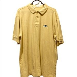 Men's large Greenbay Packers polo
